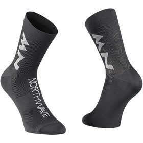 Northwave Extreme Air Mid Socks, black/gray
